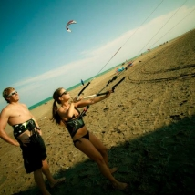 learn to kitesurf barcelona